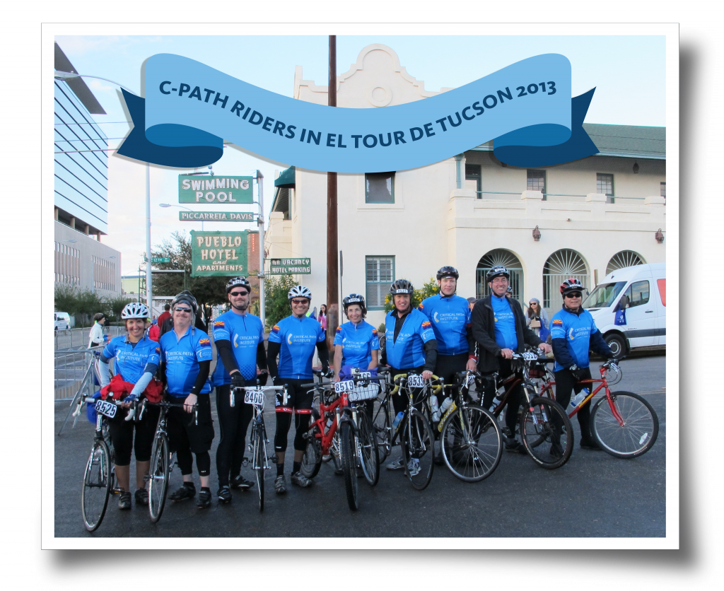 C-Path Riders in El Tour de Tucson
